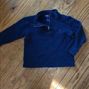 Ralph Lauren polo zipper pullover size 5